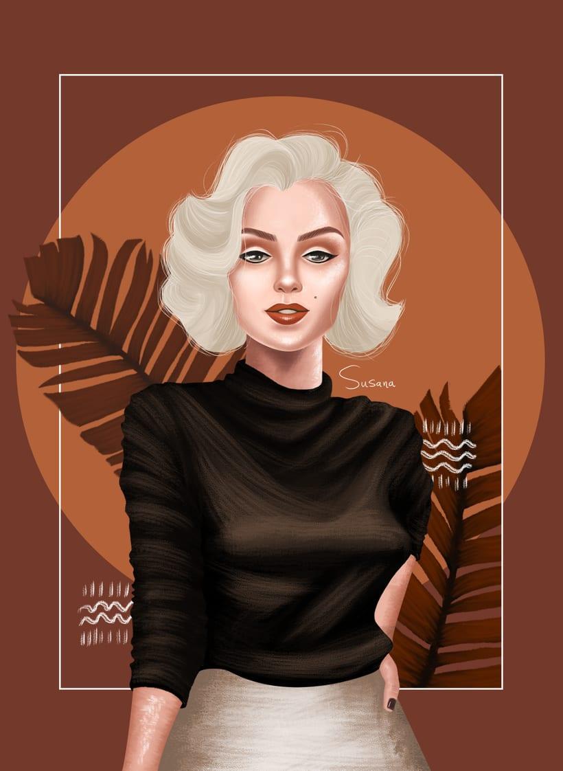 Marilyn Monroe. 0