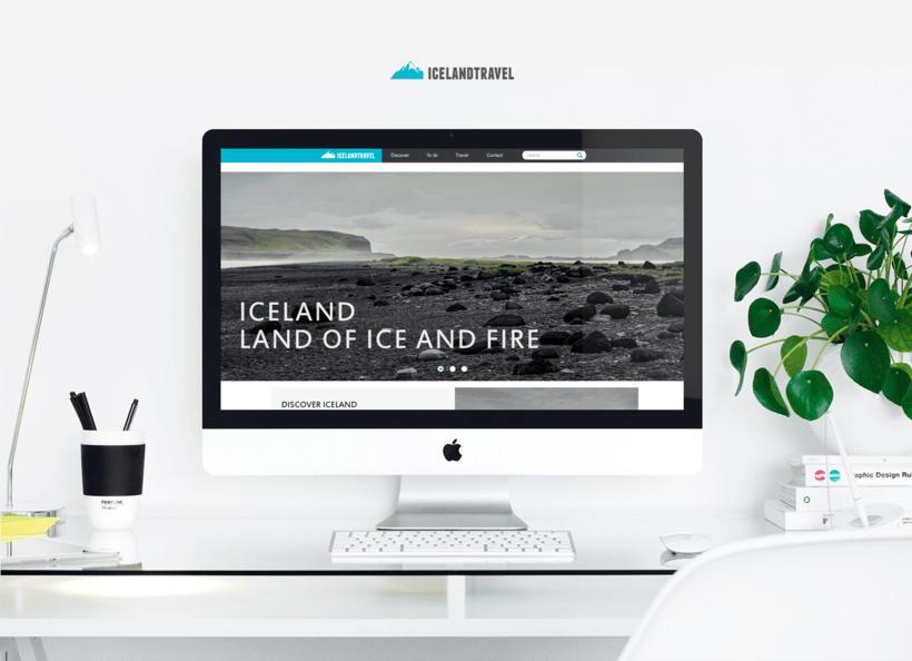 Iceland travel / website 0