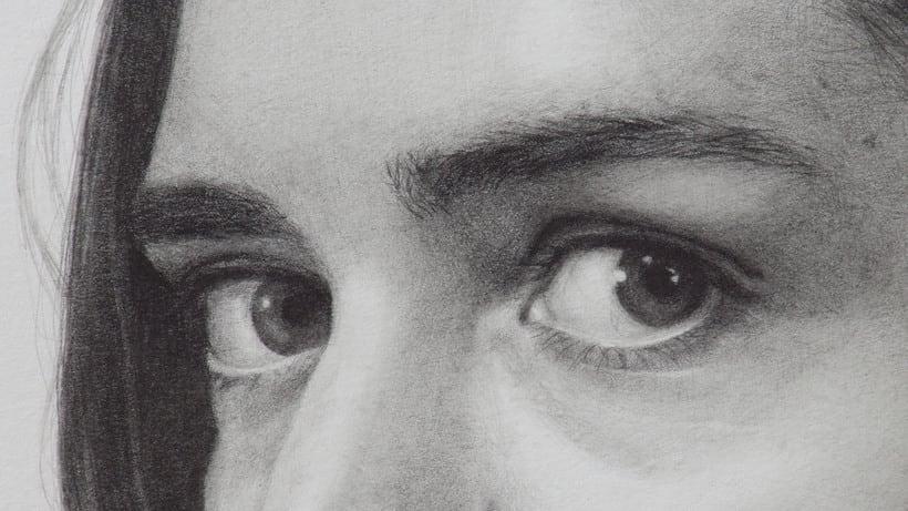 Mi Proyecto del curso: Retrato realista con lápiz de grafito 2