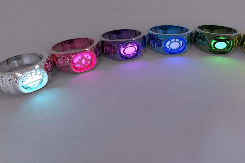 Anillos Lantern Corps 3