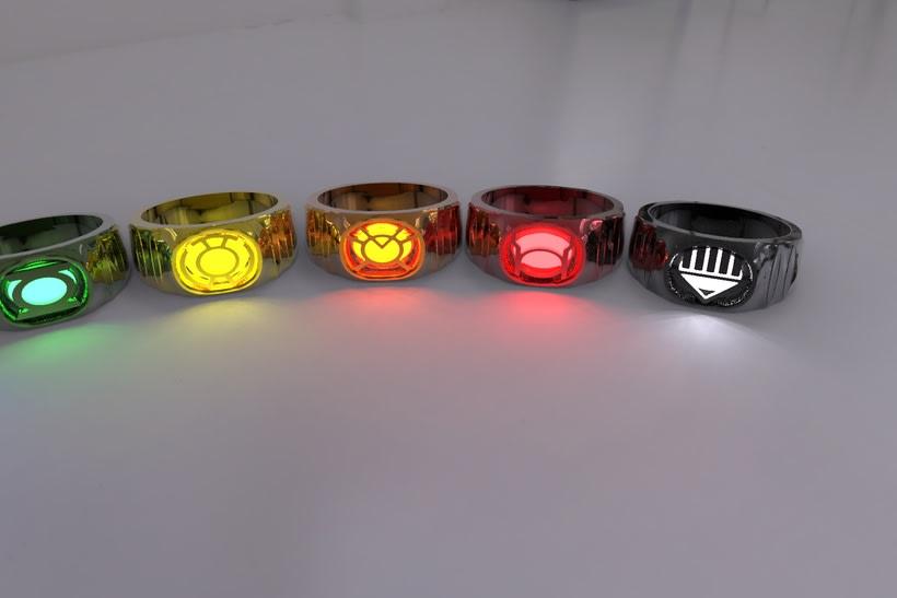 Anillos Lantern Corps 4