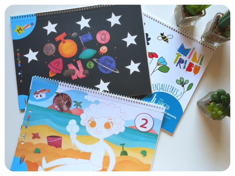 Editorial Teide. Proyecto Minitribu. Ilustración infantil 14