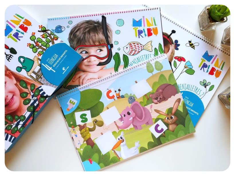 Editorial Teide. Proyecto Minitribu. Ilustración infantil 12
