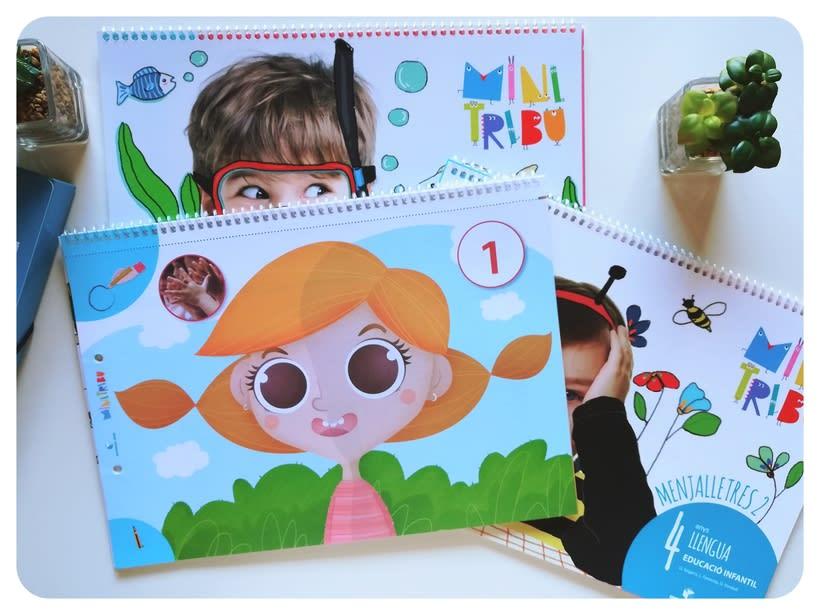 Editorial Teide. Proyecto Minitribu. Ilustración infantil 15