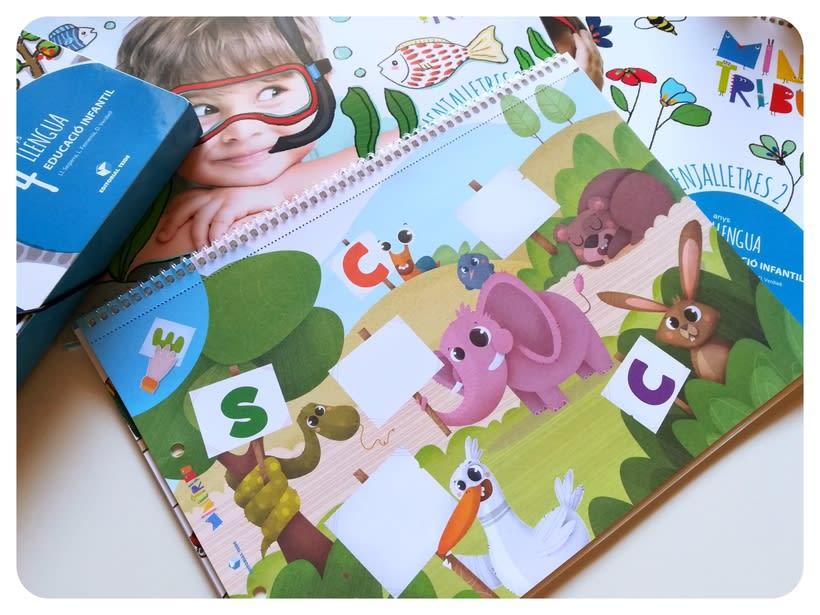 Editorial Teide. Proyecto Minitribu. Ilustración infantil 13