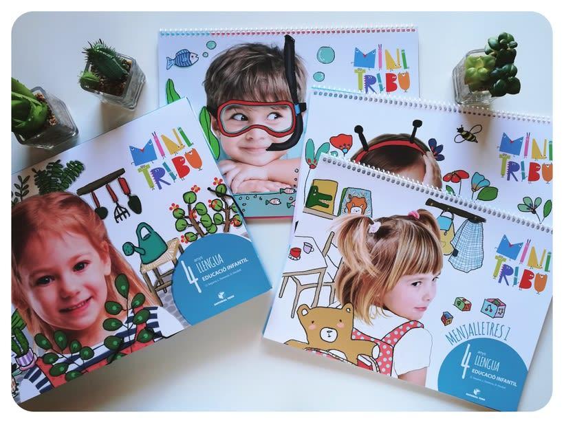 Editorial Teide. Proyecto Minitribu. Ilustración infantil 2