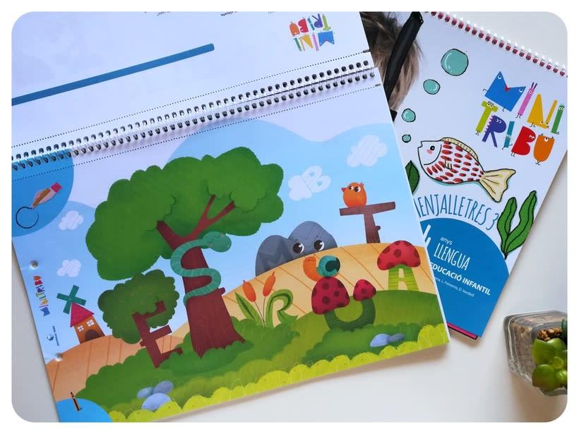 Editorial Teide. Proyecto Minitribu. Ilustración infantil 16