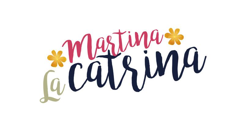 Martina La Catrina. Ilustración infantil 0