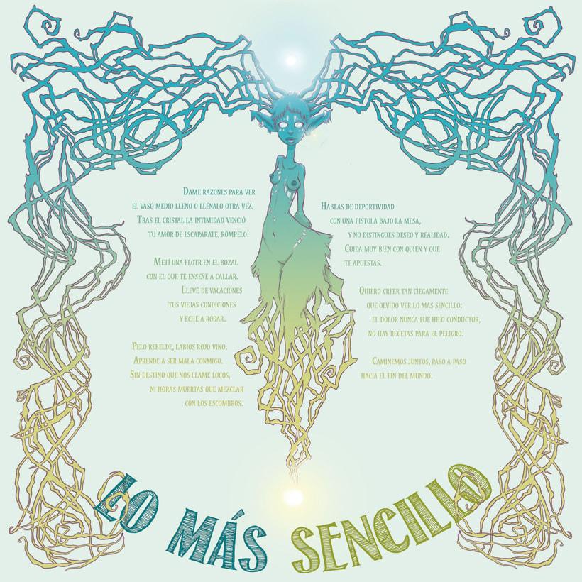 """Illustration for DapperDan's """"El tiempo Que No Fue"""" CDNuevo proyecto 0"""