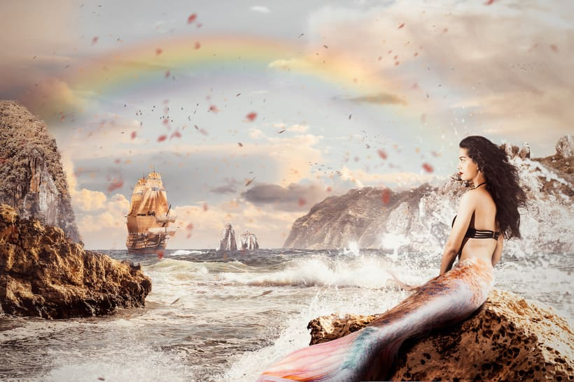 Hook arrives to Neverland 1