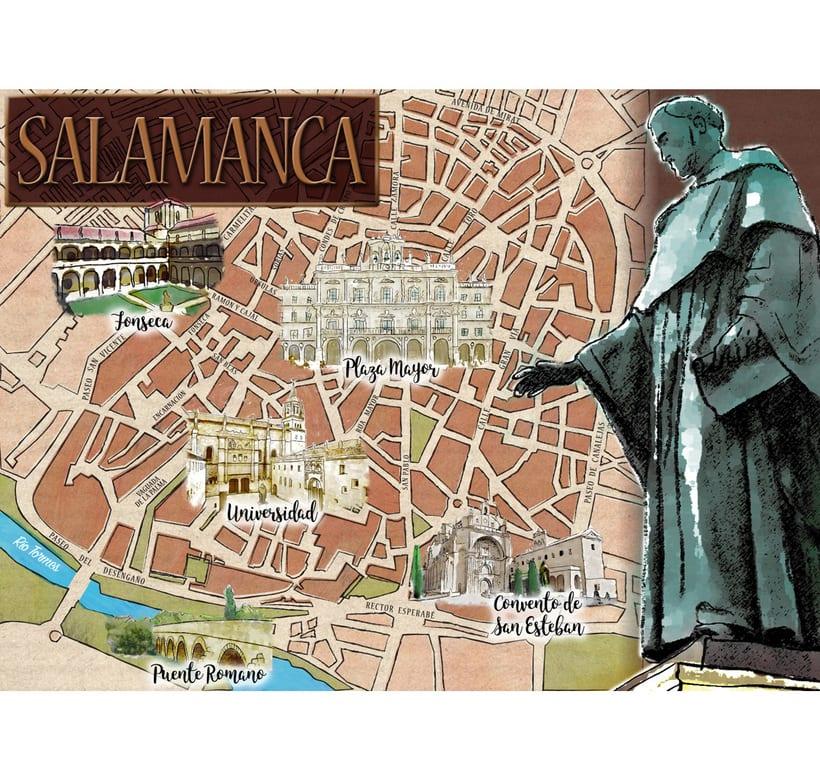 Mapa de Salamanca 0