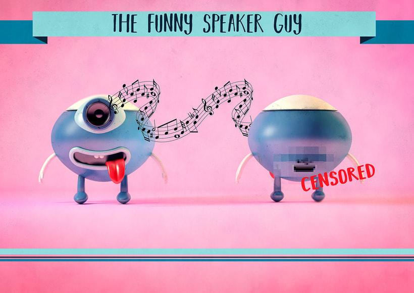 The funny speaker guy -1