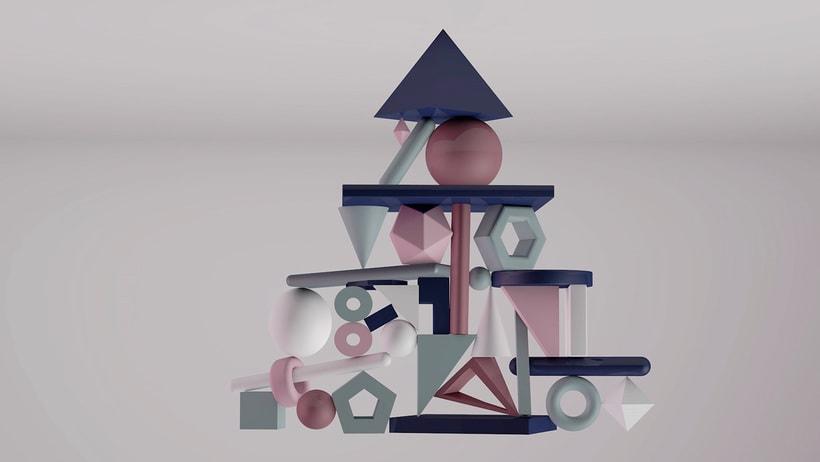 Equilibrio inverso (Cinema 4D) 2