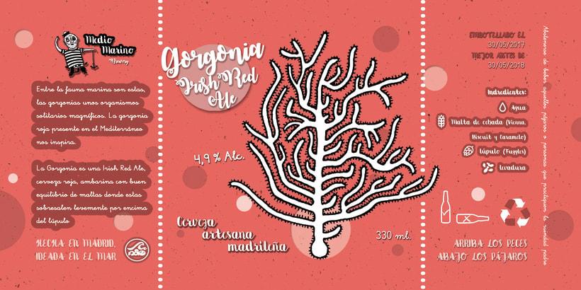 Etiqueta Gorgonia Irish Red Ale -1