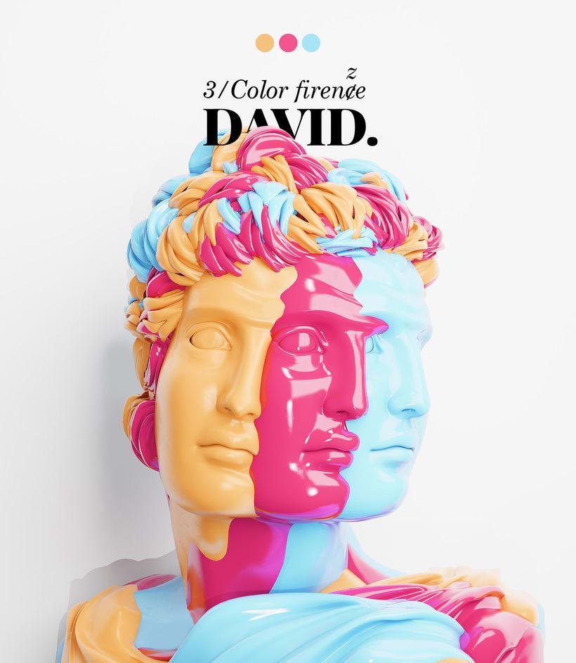 TRI/color. DAVID. 0