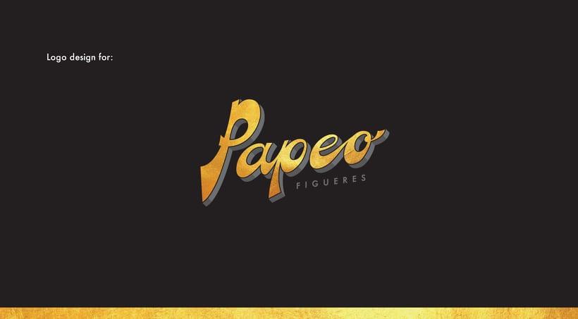 Logo. PAPEO. 0