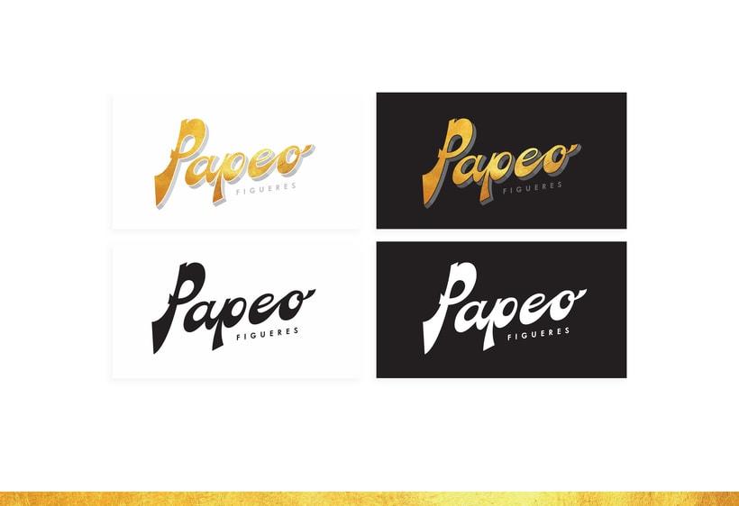 Logo. PAPEO. 2
