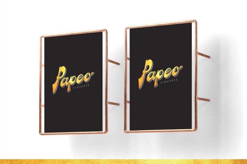 Logo. PAPEO. 4