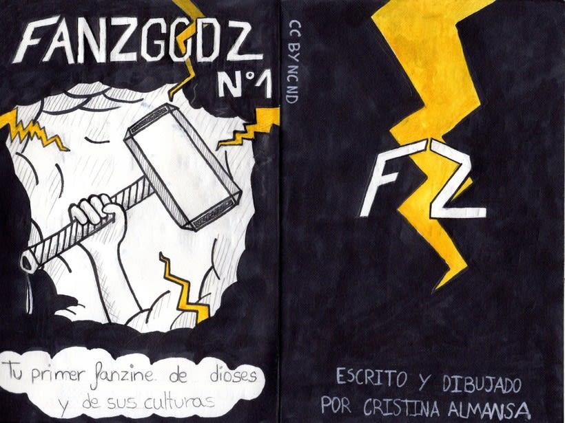 FANZGODZ nº1 - Fanzine 0