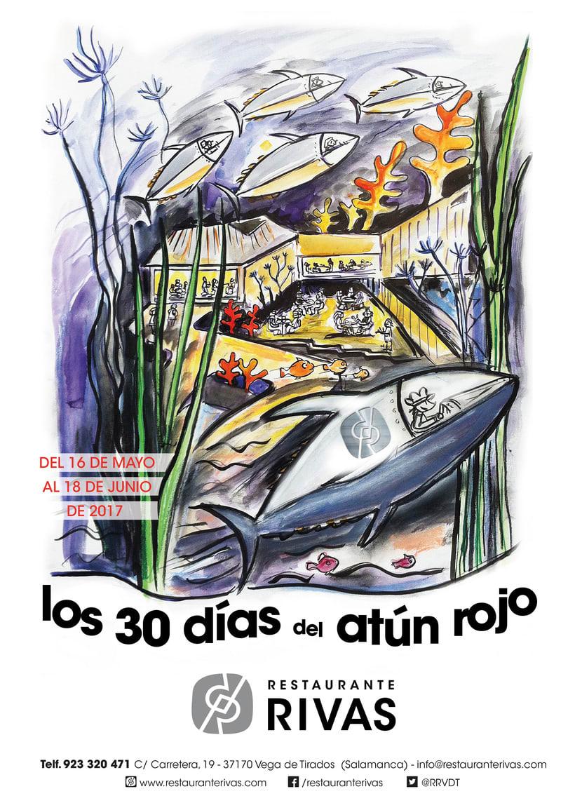 CARTELES RESTAURANTE RIVAS 8