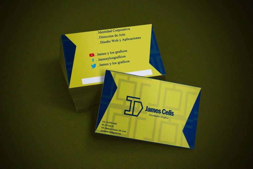 Personal Brand:  James Celis 8