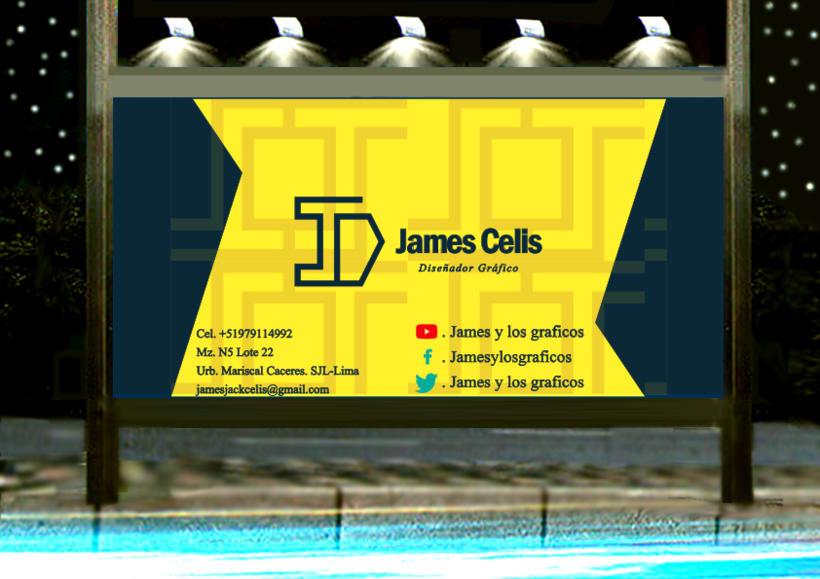 Personal Brand:  James Celis 20