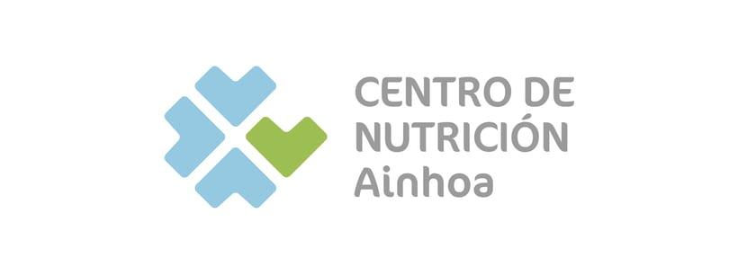 """Identidad Corporativa de """"Centro de Nutrición Ainhoa"""". 1"""