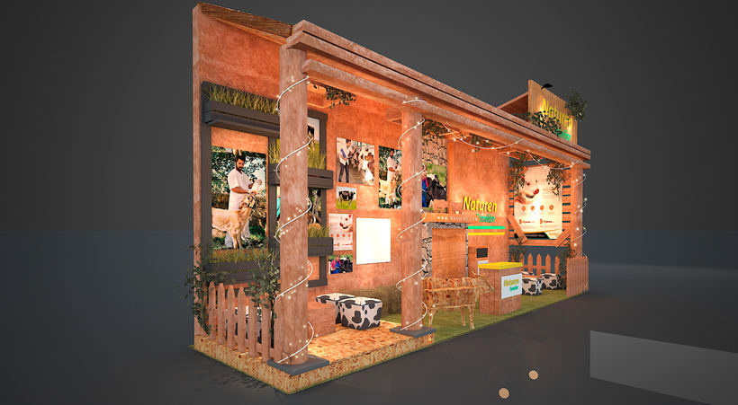 Stand 3D - Rustico 1