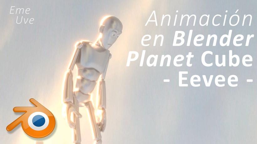Animación en Blender 2.8 usando Eevee 0