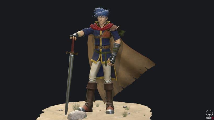 Ike Fire Emblem- Videogame character 0