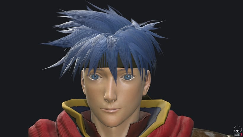 Ike Fire Emblem- Videogame character 1