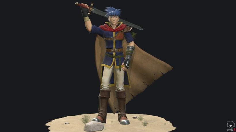 Ike Fire Emblem- Videogame character 2