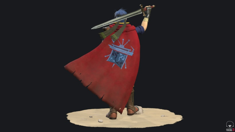 Ike Fire Emblem- Videogame character 3