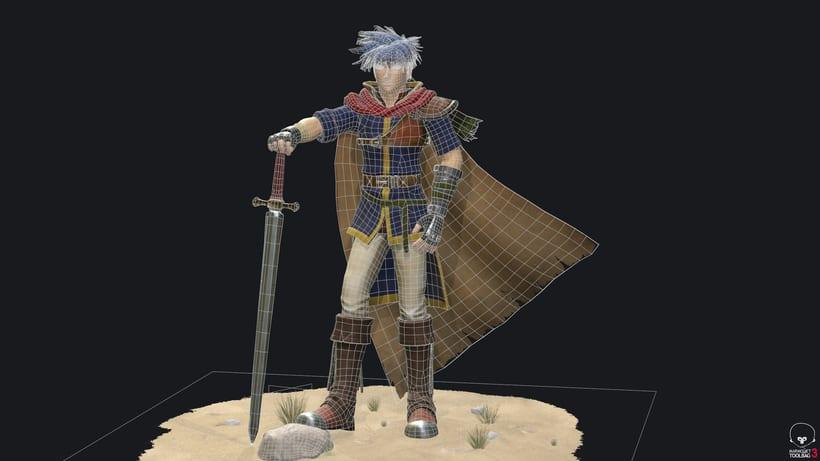 Ike Fire Emblem- Videogame character 5