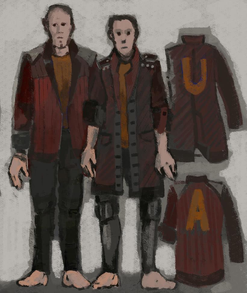Costume Design- Diseño de personajes 0