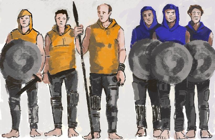 Costume Design- Diseño de personajes 1