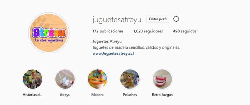 Mi Proyecto del curso: Introducción al marketing digital en Instagram @juguetesatreyu 0