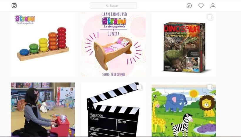 Mi Proyecto del curso: Introducción al marketing digital en Instagram @juguetesatreyu 1
