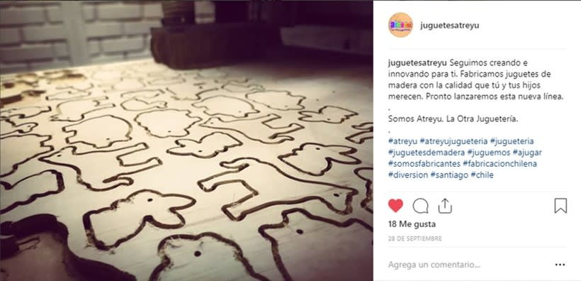 Mi Proyecto del curso: Introducción al marketing digital en Instagram @juguetesatreyu 2