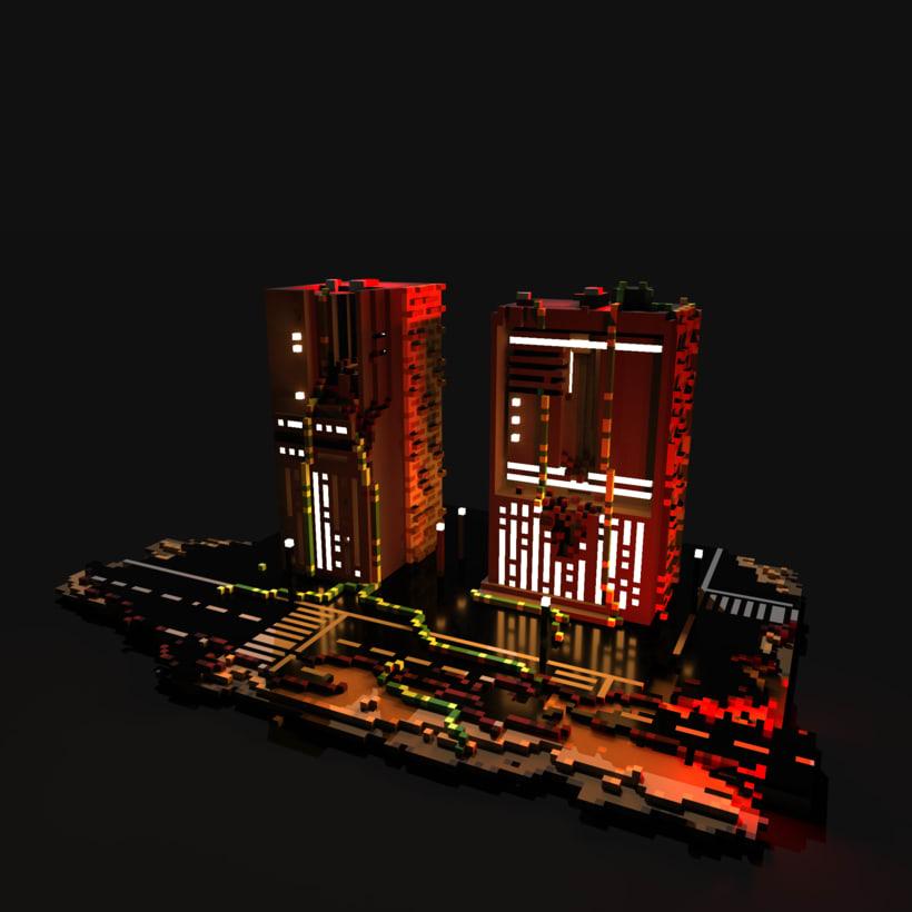 """""""Paprefú II"""" - Burning City - 0"""