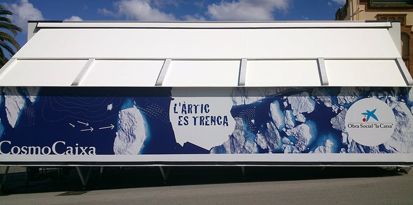 """Exposición itinerante:  """"El Ártico se rompe"""" Cosmo Caixa 1"""