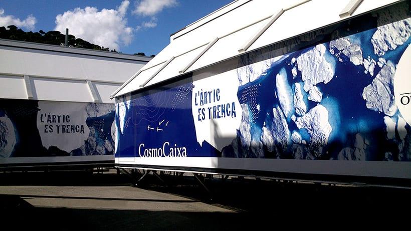 """Exposición itinerante:  """"El Ártico se rompe"""" Cosmo Caixa 3"""