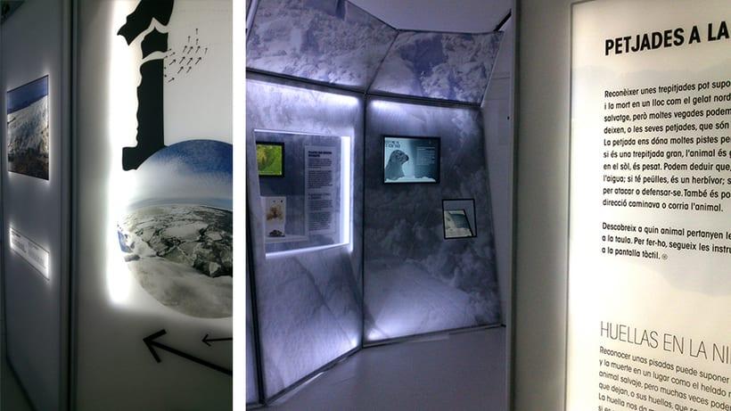"""Exposición itinerante:  """"El Ártico se rompe"""" Cosmo Caixa 4"""