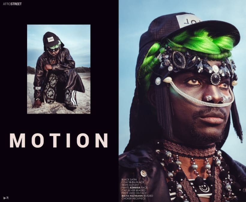 H.O.L 2.0.5 - Afro Style Magazine 18th issue - Los Angeles, US.  6