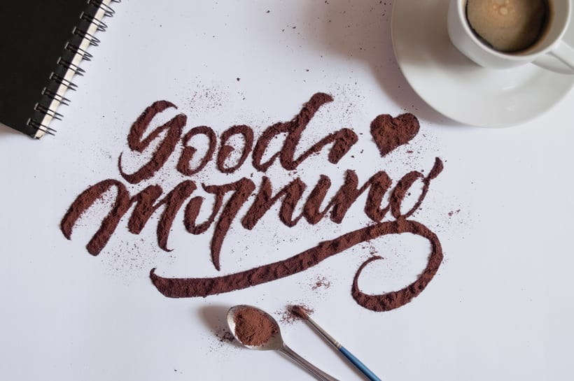 Good Morning - Coffee Texture 0