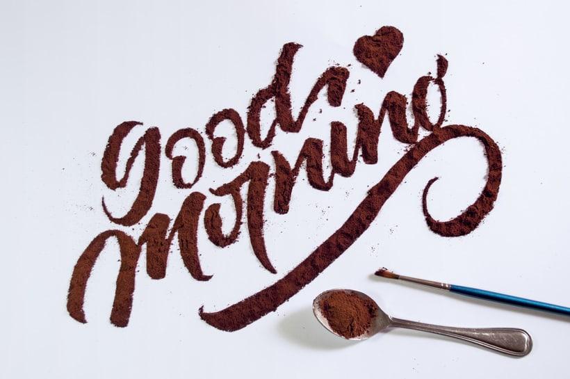 Good Morning - Coffee Texture 1