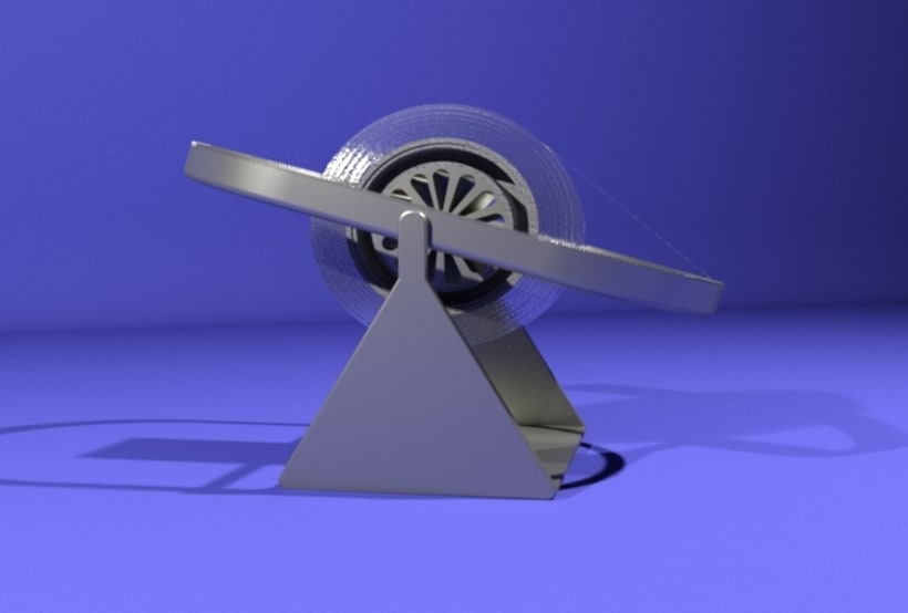 Tape dispenser, product design 1