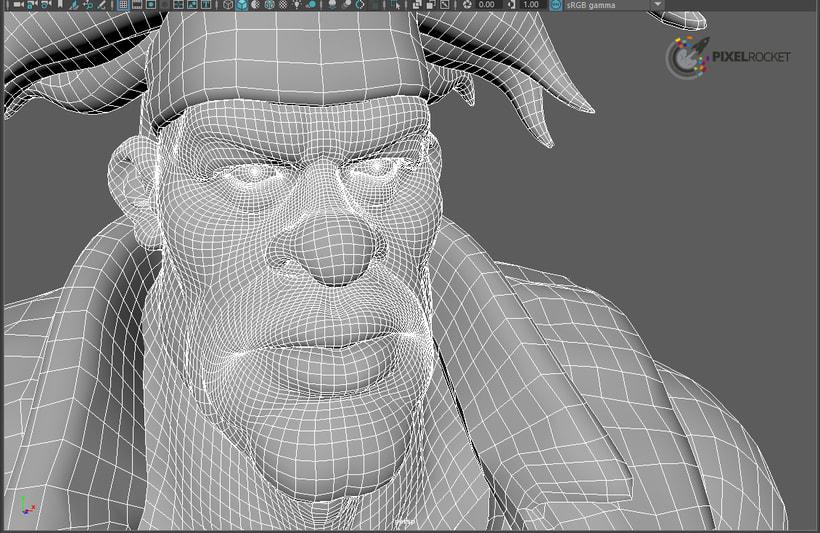 Personaje 3D 0