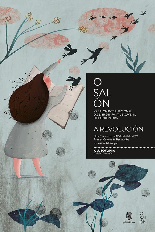 A revolución. Finalista II Premio Internacional de Ilustración del Salón de Libro Infantil de Pontevedra. -1