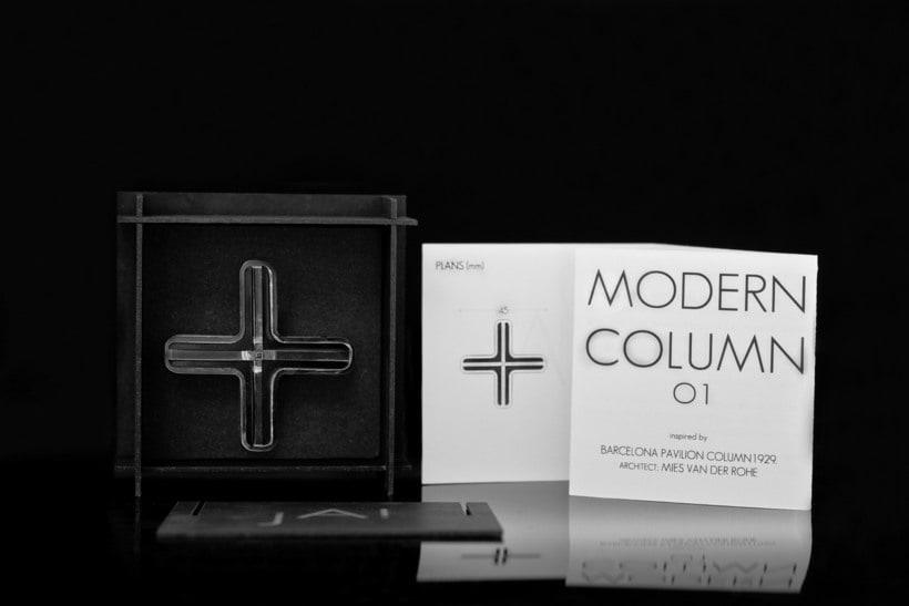 Proyecto joyería inspirada en Ludwig Mies van der Rohe de Ja-Made design 2